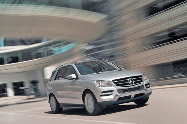 Mercedes-Benz M-Class: третье поколение