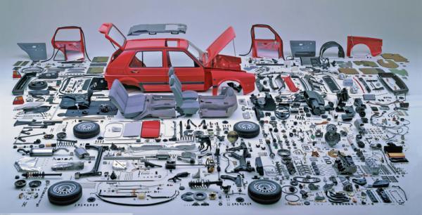 Японские автопроизводители унифицируют автомобильные запчасти