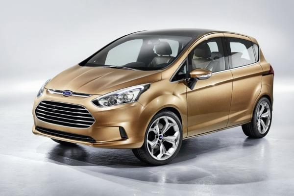 Ford B-MAX в следующем году будет запущен в производство