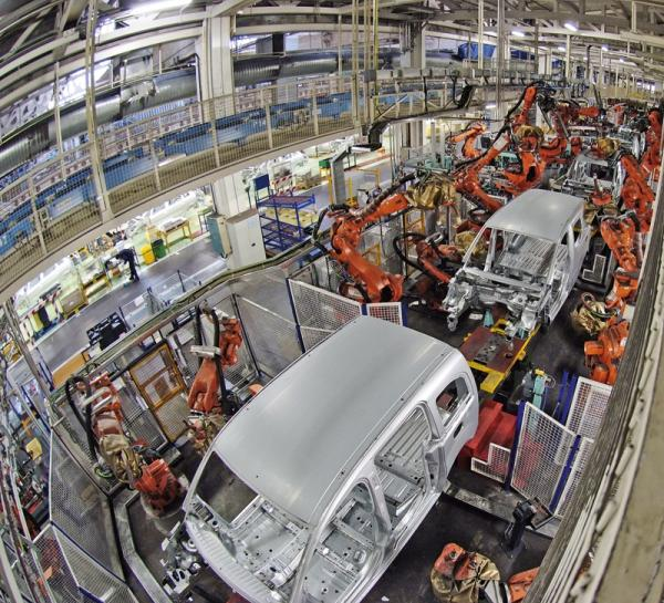 Производство автомобилей в Украине растет