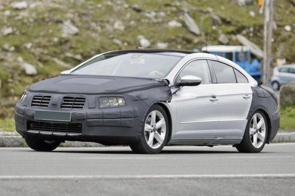 Volkswagen Passat CC обновят
