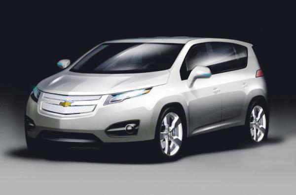General Motors готовит новый гибридный кроссовер Volt MPV5