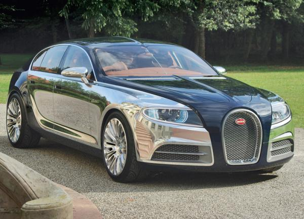 Пятидверный Bugatti назовут Royale