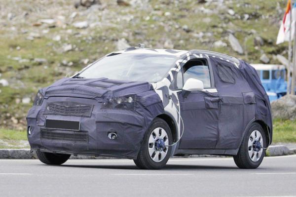 Opel готовит компактный вседорожник