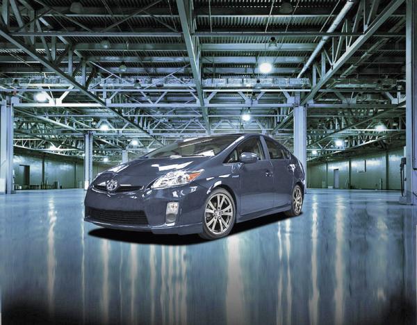 Toyota Prius стал спортсменом
