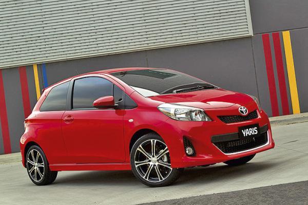 Toyota Yaris 2012 модельного года: первые фото