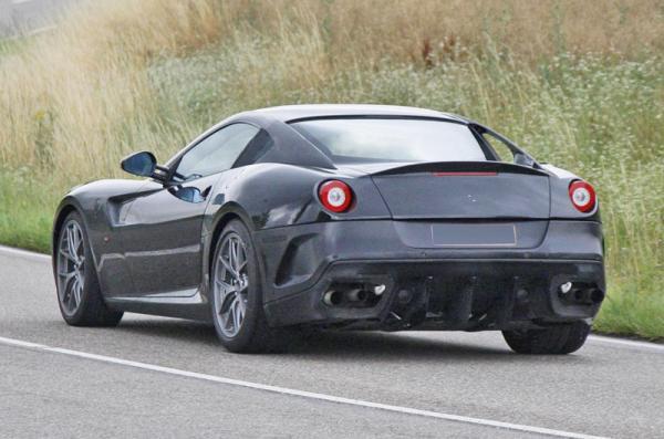 Ferrari готовит замену 599 GTB Fiorano