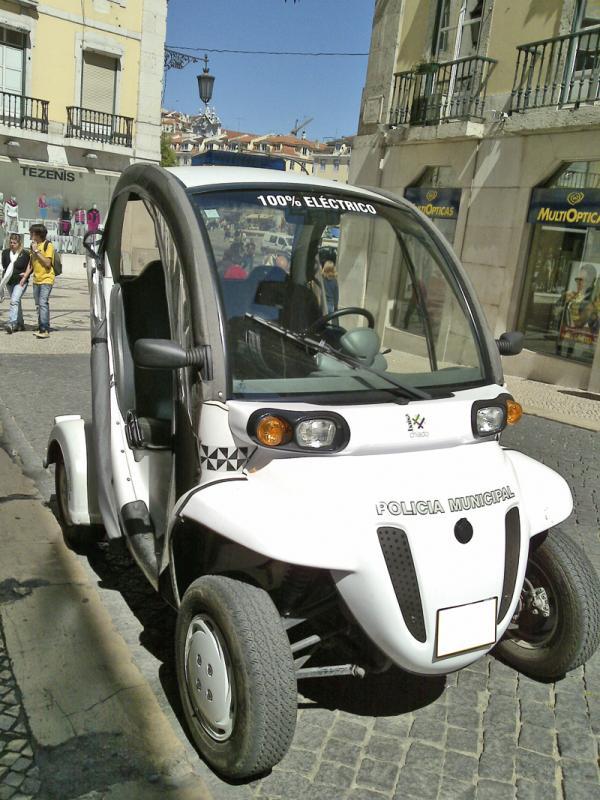 Днепропетровская милиция освоила электромобили