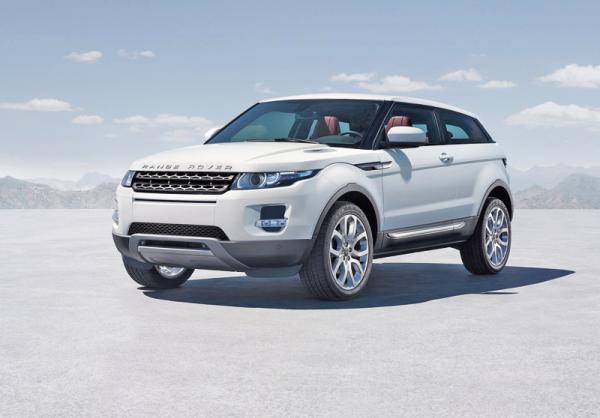 Кроссовер Range Rover Evoque: начало продаж