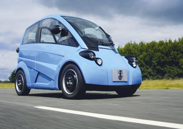 Gordon Murray Design T.27: городской электромобиль