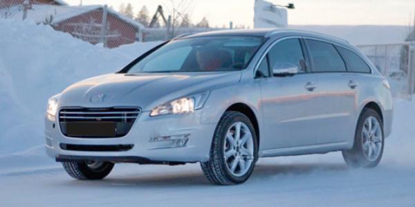 Peugeot проводит испытания вседорожной версии универсала 508