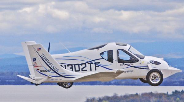 Terrafugia Transition: летающий автомобиль получил сертификацию