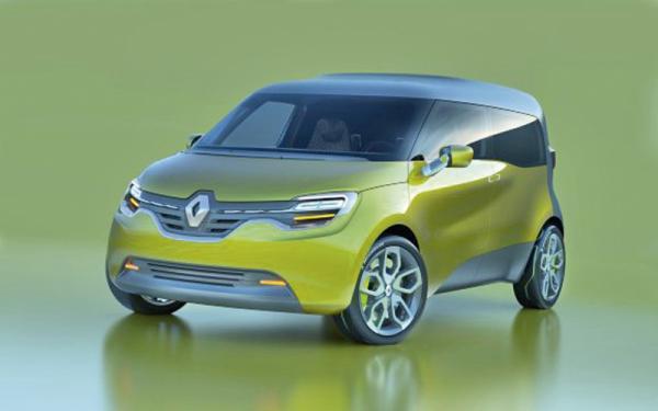 Renault Frendzy – электромобиль со звуком
