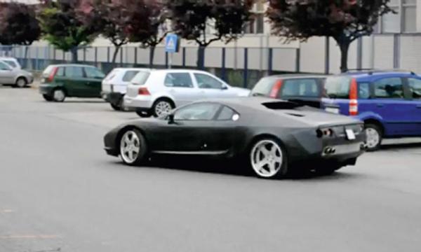 De Tomaso Pantera представлен на мотор-шоу во Франкфурте