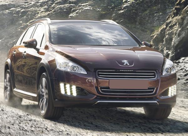 Peugeot 508 RXH: гибрид повышенной проходимости