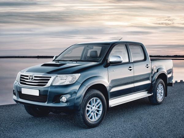 Toyota Hilux: второе обновление