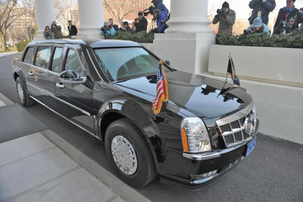 Британские полицейские оштрафовали президентский кортеж