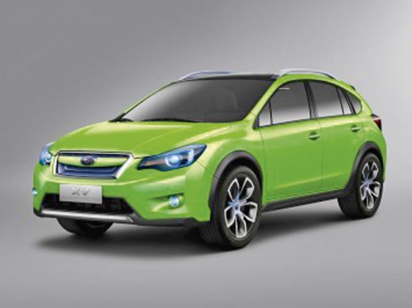 Subaru Impreza XV появится в 2012 году