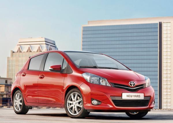 Новый Toyota Yaris появится в октябре