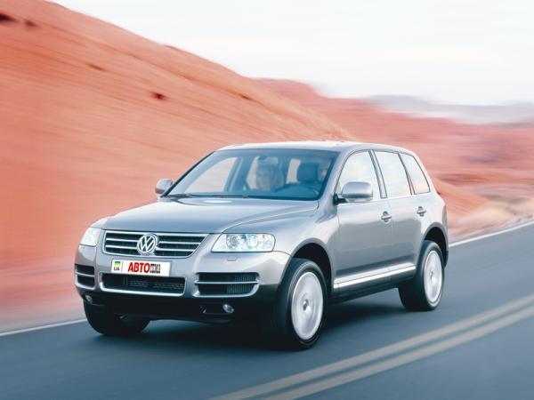 Volkswagen Touareg (2003-2010): солидный кочевник