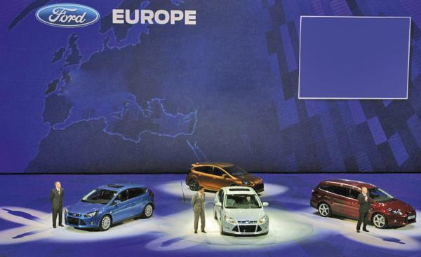 Ford на Франкфуртском автосалоне покажет четыре новые модели
