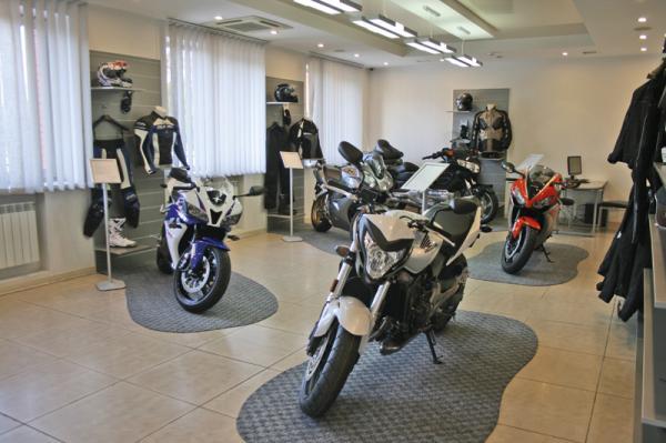 В Киеве открыт новый мотосалон Honda