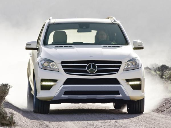 Mercedes-Benz M-Class: эволюционный путь