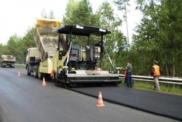 Ремонт участка дороги Киев - Ковель - Яготин