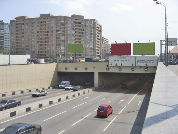 Тоннель под Днепром начнут строить в 2012 году