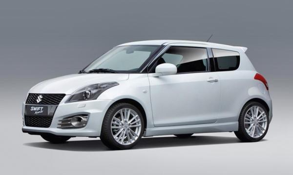 Suzuki во Франкфурте представит новый Swift Sport
