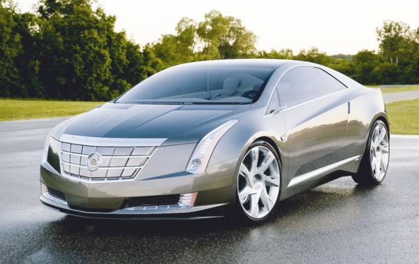 Cadillac ELR: новый автомобиль класса люкс