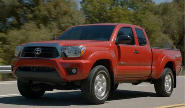 Toyota Tacoma 2012 модельного года