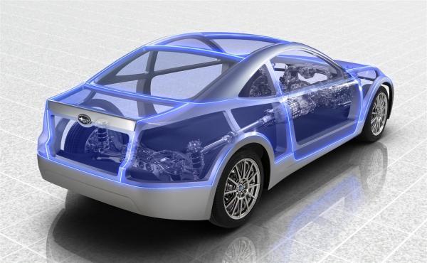 Концепт Subaru BRZ