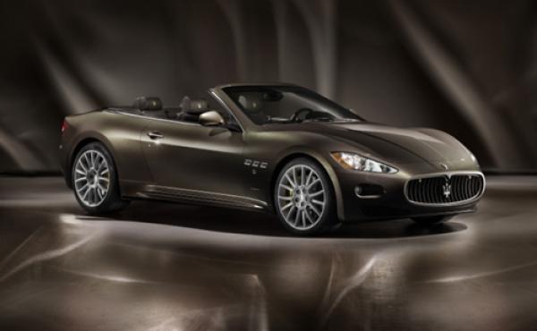 Maserati представит во Франкфурте новый кабриолет