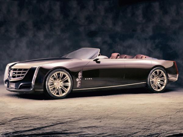 Cadillac Ciel: большой четырехдверный кабриолет в стиле 60-х годов