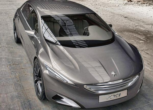 Peugeot HX1 представят во Франкфурте
