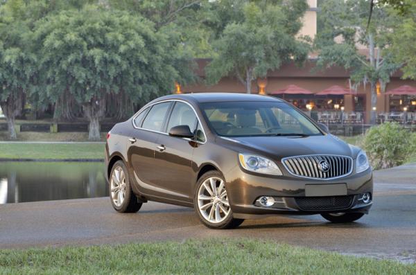 Buick Verano первый компакт концерна GM