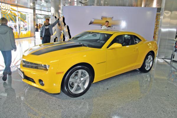 Столичное автошоу-2011: Chevrolet