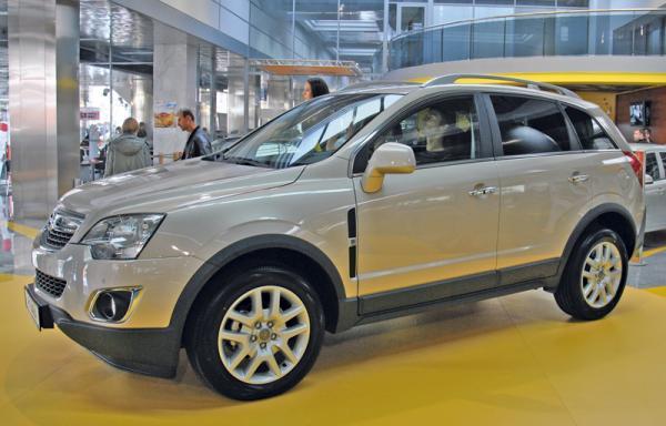 Столичное автошоу-2011: Opel