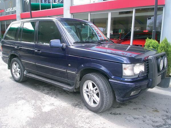 Range Rover: британский