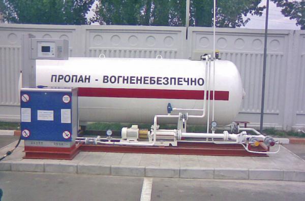 В Украине наблюдается рост цен на сжиженный газ