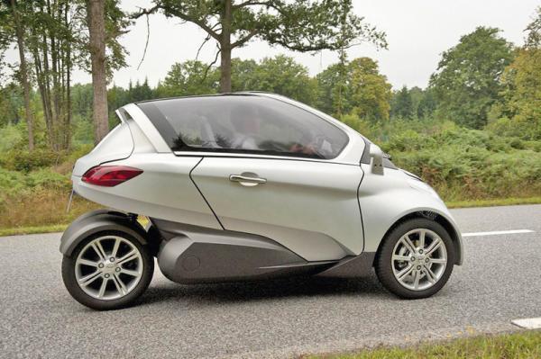 PSA Velv: компактный электромобиль