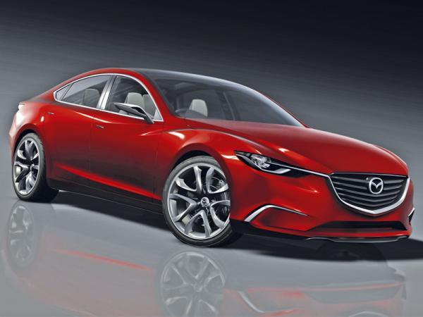 Mazda Takeri: предвестник нового Mazda 6