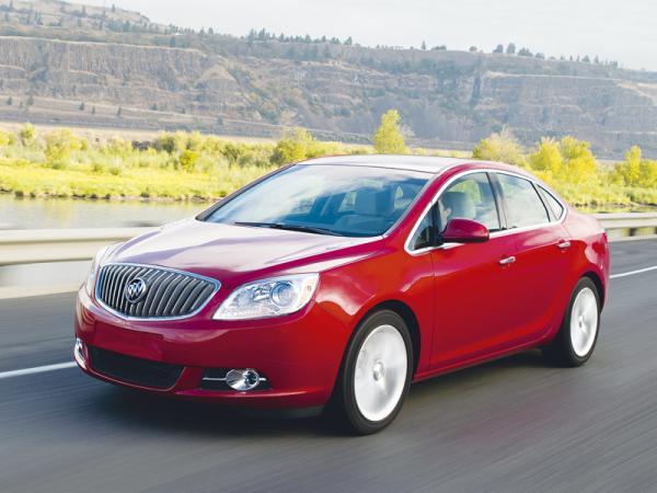 Buick Verano: самый маленький в линейке