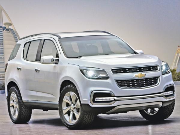 Chevrolet TrailBlazer: возвращение