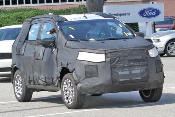 Ford EcoSport – новый компактный вседорожник