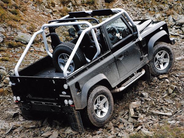 Land Rover Defender SVX: подарок на 60-летие