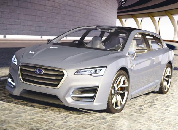 Subaru Advanced Tourer: спортивный универсал