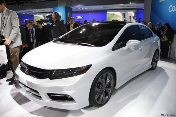 В Украине ожидают обновленный Honda Civic