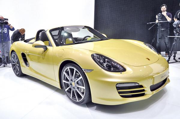 Женевская весна-2012: Porsche